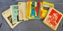Various Circus Publications Lot 1930's-1980's