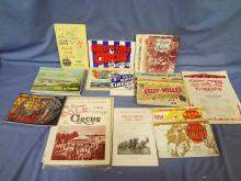 Large Lot of Various Circus Route Books 1951-1995