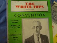 The White Tops Magazine Convention Issues 1936, 1955, 1957