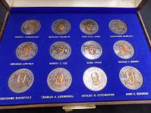 1976 Twelve Great Americans from the Letcher Mint