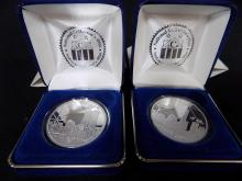(2) 2004 National Collectors Mint Freedom Tower .999 Silver Coins