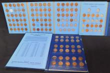 Lincoln Penny collection 3 books 1909-1967