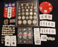 Balance of Silver Coin Collection, Type Collection & more