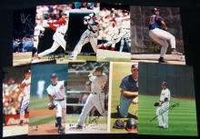 Lot (10) Autographed Cleveland Indians 8x10 Photographs