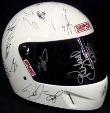 NASCAR Greats Autographed Simpson Racing Helmet, (30+) Signatures
