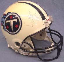 Eddie George Autographed Tennessee Titans Full Size Helmet