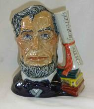 Royal Doulton Patriot Series 1st Issue LE 250 Lincoln