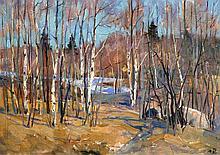 Mark Kremer (Russian, b. 1928) Oil on Board Spring