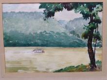 1935 Ohio School Oil on Canvas Dubaniewicz, Peter(1913-2003)