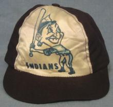 Early 1950's Cleveland Indians Silk Front