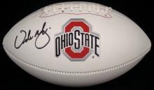 Urban Meyer Autographed Full Size Ohio State White Panel Football