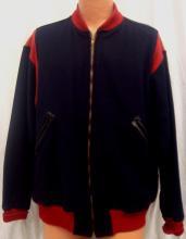 1950's Cleveland Indians Game Worn Wool Warm-Up Jacket