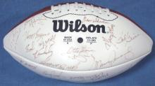 1972 Miami Dolphins Team Signed Undefeated Season Reunion Football