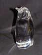 Daum Nancy France Glass Crystal Penguin