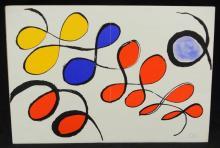 Alexander Calder Lithograph From Portfolio
