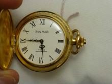 Andre Rivalle 17 Jewel GF Hunter Case Precision Pocket Watch