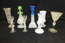 Collection Art Glass Bohemian Italian Salviati