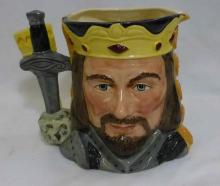 Royal Doulton Star Crossed Lovers Mug King Arthur & Guinever D6836 LE
