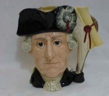 Royal Doulton ANTAGONISTS Mug George III George Washington D6749 LE