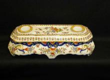 Hand Painted Porcelain Ink well Set