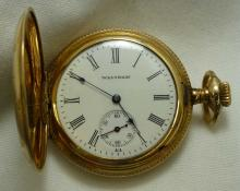 1890 Waltham Seaside Pocket Watch s/n 14642542 Illinois Elgin Case