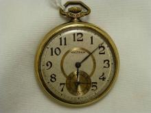 1894 Waltham 7 Jewel Breguet Spring Open Pocket Watch