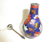 Early Cloisonne  Enamel on Copper Snuff Bottle