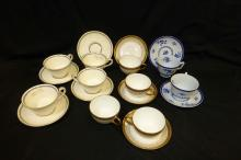 Teacups & Saucers Wedgwood Spode, D&C France