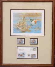 Duck Stamp Print First of Nation Sweden-Sverige 1996-97 Roland Jonsson Signed