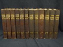 National Geographic Bound Volumes 1908-1915 (12) Volumes