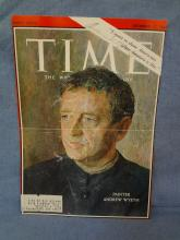 Andrew Wyeth Autographed Time Magazine Cover LOA from JSA