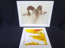 (2) Signed Lithographs Peter Parnall