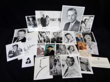 Group of Fascimile Autographed Photographs John F. Kennedy, Margaret Thatcher others