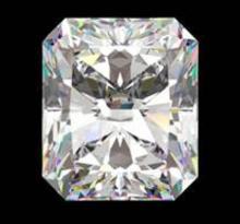 GIA CERT 1.01 CTW RADIANT DIAMOND F/VVS2 #41946v2