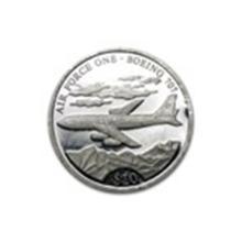 Liberia $10 Proof Silver Coins ASW .2746 #27222v2