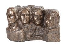 Mount Rushmore Cold Cast Bronze Statue #71287v2