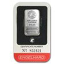 1 oz Platinum Bar - Engelhard (In Assay) #27309v2