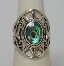 36.25 ctw Multi color Ring .925 Sterling Silver #46234v1