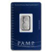5 gram Platinum Bar - Pamp Suisse #27302v2