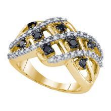 10KT Yellow Gold 0.62CT DIAMOND FASHION RING #54114v2