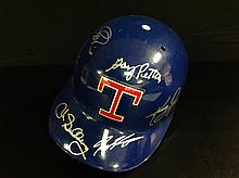 Texas Rangers Greats Multi Signed Full Size