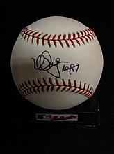 Mark McGuire Autographed Rawlings Official