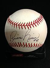Mariano Rivera Autographed Official American