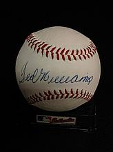 Ted Williams Autographed Wilson (Haiti) Official