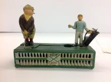 Vintage Cast Iron Mechanical Bank