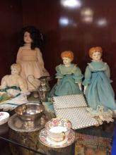 Selection Of Antique Dolls & More