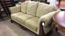 Highly carved Broyhill  sofa