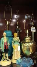 Selection of table lamps and more