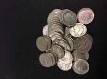 40 Silver Roosevelt Dimes