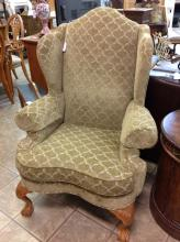 Contemporary Massoud Wing Back Chair